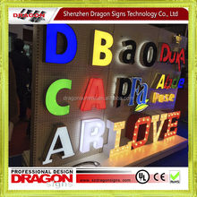 Wholesale New Age Products led display alphabet letter