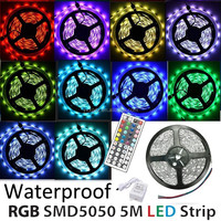 promotion packing 5m DC12v waterproof ip65 smd 5050 300leds rgb led strip