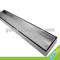 SMART TILE INSERT STAINLESS STEEL LINEAR FLOOR WASTE SHOWER DRAIN 800 MM LONG
