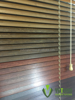 35mm width of bamboo slats for wooden blinds curtains in bamboo