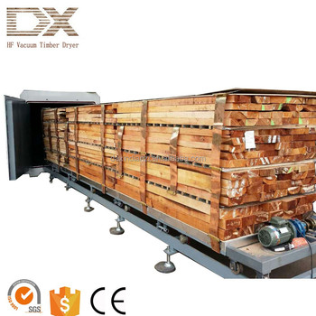 Medium capacity Radio Frequency Vacuum Dry machine for wood sawmill