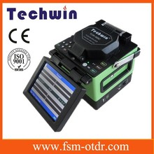 CE Certified High Capacity Battery TCW-605 Fiber Optic Cable Splicing Machine Fusion Splicer Kit