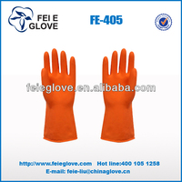 Black Industrial latex glove/Industrial Rubber Gloves/Industry & Household Latex Glove