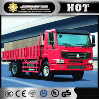 8x4 mini electric CARGO TRUCK 290hp from China famous brand HOWO