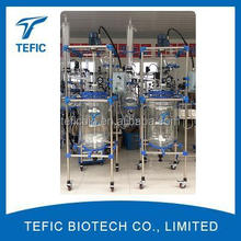 New Condition and Reaction Kettle Type Jacketed Glass Reactor TEFIC-2L for sale