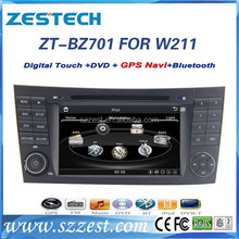 ZESTECH Factory supply Car multimedia for mercedes w211 navigation with gps navigation stereo headunit