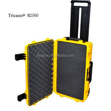 2015 new products crushproof waterproof large hard plastic trolley tool case