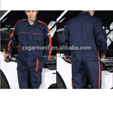 2017 HOT SELLING work wear CUSTOM MADE OVERALLS CLOTHING FOR MECHANIC OVERALL UNIFORMS