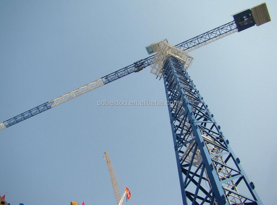 Mini Tower Cranes : Tower crane tc buy luffing used