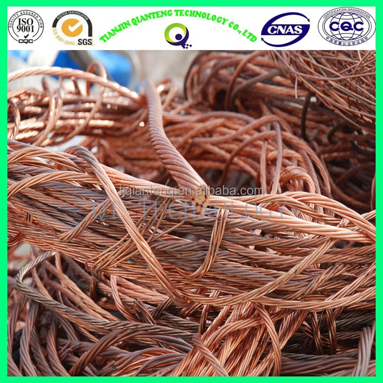 Hot sale red copper wire scrap millberry with low scrap copper price