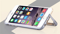 New design metal for iphone 6 bumper cover case with Stand function
