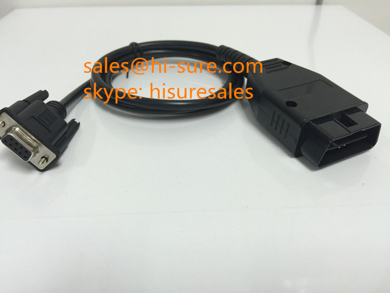 Assembled J1962 Connector OBD to DB9 cable for car diagnostic tool
