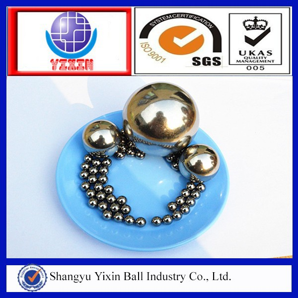 Good quality hot-sale 5.556mm 6.35mm 7.144mm 9.525mm 14.288mm 18mm stainless steel <strong>balls</strong> for bearing