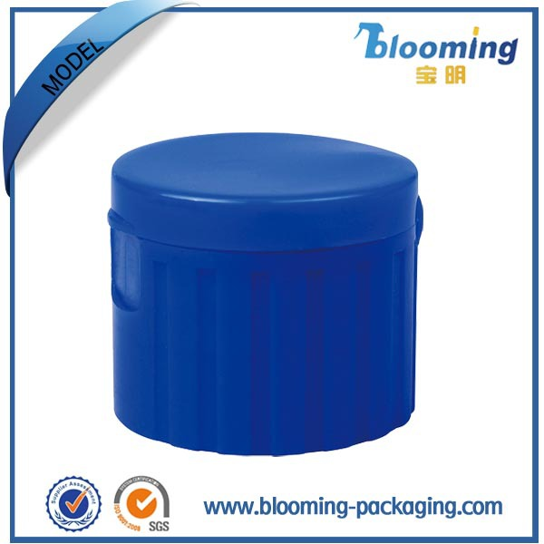 Personal care plastic jars for flip top lids for plastic bottle
