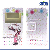 [GGIT] Universal Flip Holster Wallet With Diamond Mobile Phone Cover