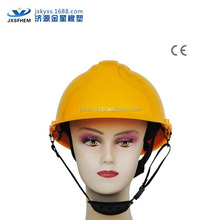 ce en 397abs helmet safety msa with face shield earmuff slot