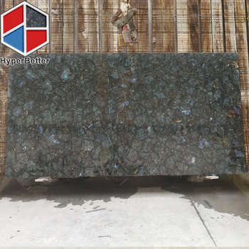 Lemurian labradorite composited granite