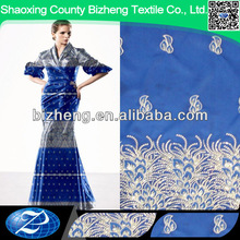 new design cationic embroidery style indian george fabric