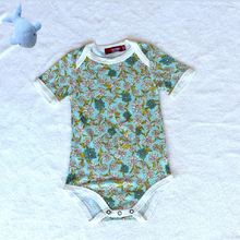 Colorful Design Pure Bamboo Baby Animal Bodysuit