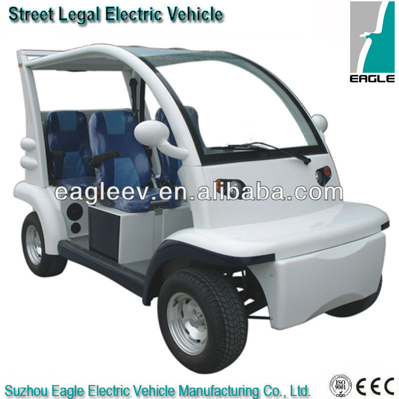 Street legal electric vehicle, 4 seats, EEC approved