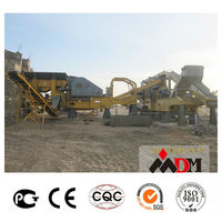 China Top 1 mobile crusher used stone in indonesia for sale certified by CE ISO GOST