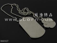 Hot fashion cheap personalized dog tag silencer