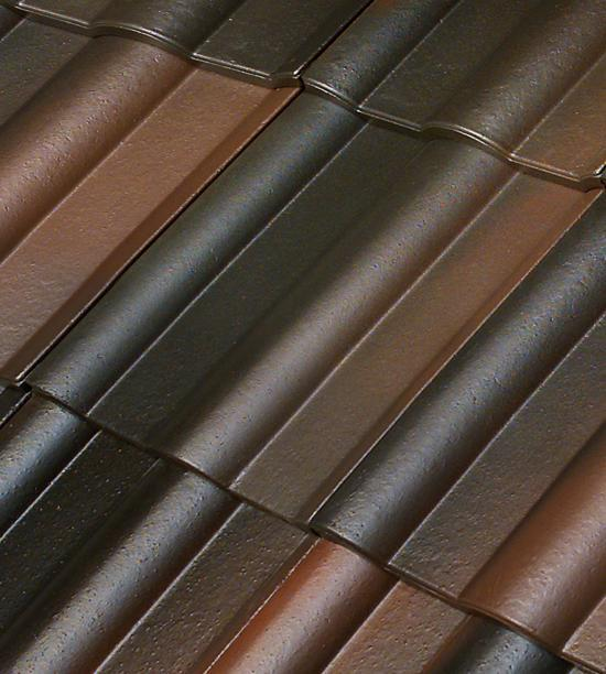 color cement roof tile