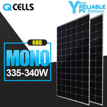 High quality hanwha qcells latest mono 335w 340w efficiency solar panel for renewable energy