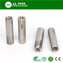 M10 M12 Stainless steel SS Knurled drop in anchor