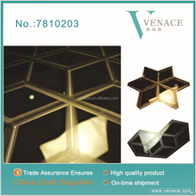 gold color 0.6mm stainless steel checkered plate with good price