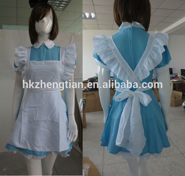 2014 wholesale cheap carnival Sexy Japanese Lolita Costume latex catsuit