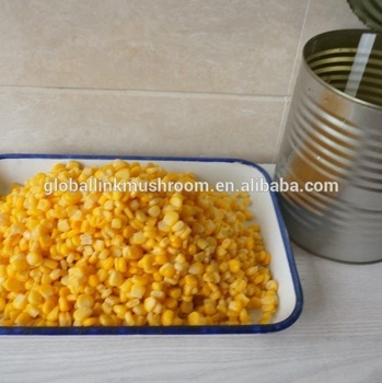 340g canned yellow sweet corn