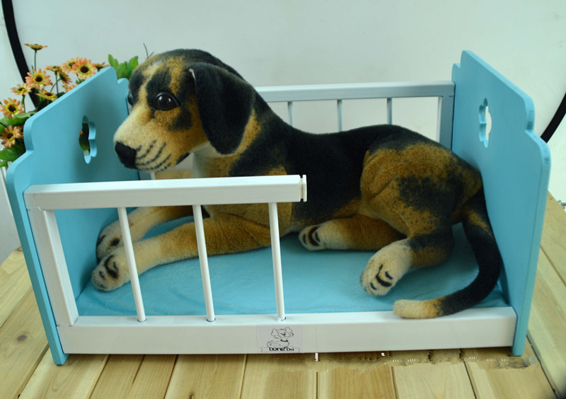 Hot Sale Fashion Wooden Dog House Cat Mat Wood Pet Kennels