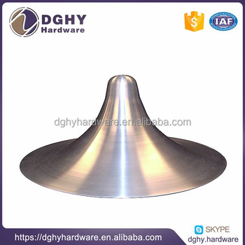 Metal spinning processing bevel chimney Quality and cheap lamps and lanterns of accessories