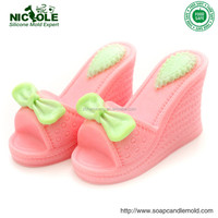 H0024 3d Silicone high heel shoes chocolate molds