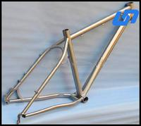 pickling surface titanium 29er mtb frame with low price