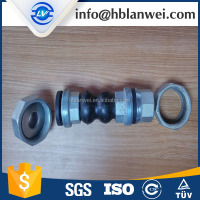 PN10/PN16 Double Sphere Rubber Expansion Joint Threaded Union End
