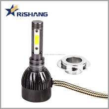 Auto parts, Factory wholesale price H7 60W 8000 lumen led car light headlamp bulb h7 h11 9005 9006 for universal cars