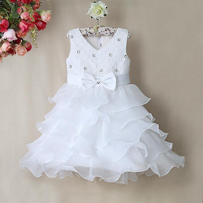 New Style Wedding Girl Dress for Baby girl 5 layered girls fashion Party dresses kid wear GD31115-8