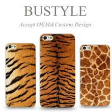 The Latest Personality Animal Fur Grain Design OEM Mobile Phone Case For Apple iPhone 5 5s 6 plus For Samsung Galaxy s5 s6 edge