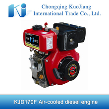 Mini 4 hp 4-stroke diesel engine KJD170F for sale