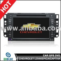 7 inch car dvd player speical for CHEVROLET LOVA EPICA CAPTIVA with gps ,bluetooth,TV,radio,ipod car mp5/car mp3/car p4