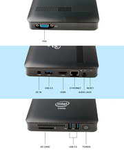 A7 Windows 10 TV Box MINI PC Desktop with Intel Apollo Lake N3450 4GB/64GB Fanless