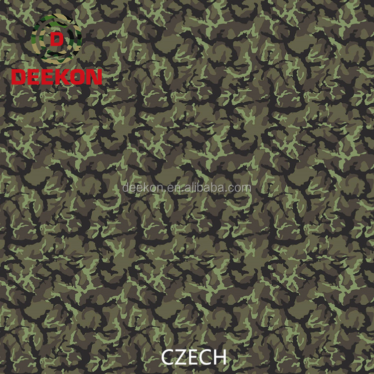 High Quality Multicam Camouflage Military Army T/C Fabric