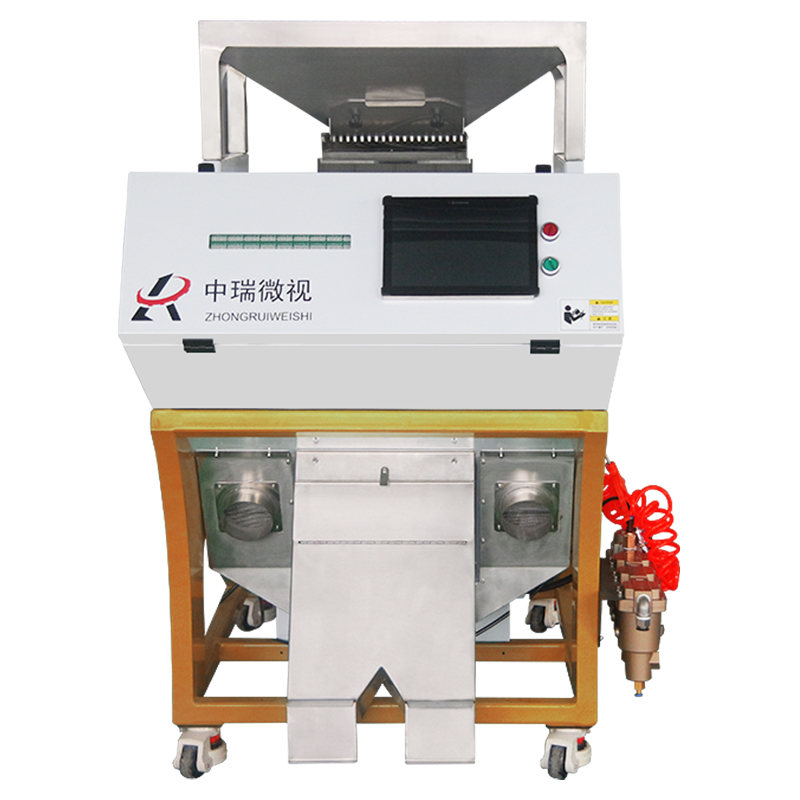 2017 New products white Led light rice Color sorter from GuangDong China
