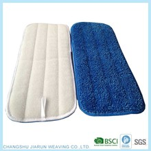 2017 China Jiarun BSCI top sale high absorbent magic mop flat, cleaning mop head ,twist mop pad for cleaning