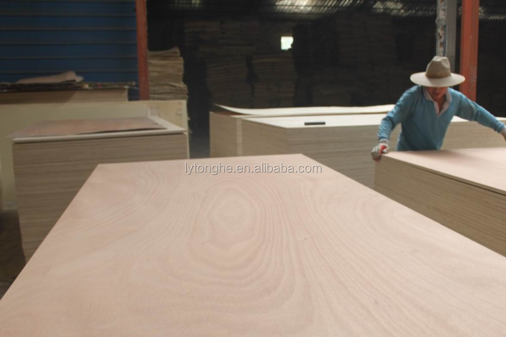Okoume plywood,BB/CC grade for furniture