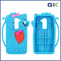 [GGIT] Lovely Tom Cat Silicone Mobile Phone Case For LG G2 D802 Cover