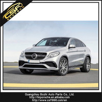 pp Material and Rear Bumper Position GLE AMG car rear bumper for BZ