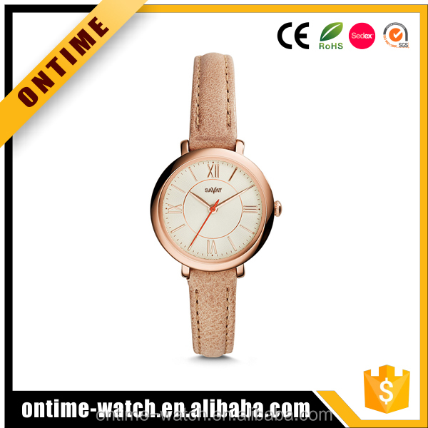 2017 fashion design vogue quartz watch for women